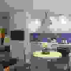 ЖК Отрада Кухня в скандинавском стиле от Massimos / cтудия дизайна интерьера Скандинавский