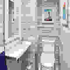 ЖК Отрада Ванная комната в эклектичном стиле от Massimos / cтудия дизайна интерьера Эклектичный