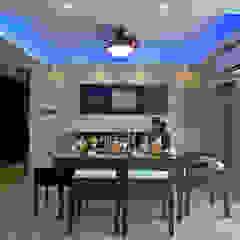 Minimalist dining room by ZERO9 Minimalist