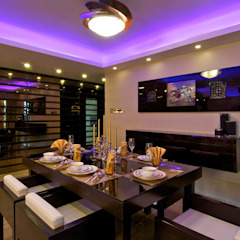 Plush Colours Modern dining room by ZERO9 Modern