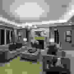 Flairlight Project 1 Oxshott, Tudor House Modern living room by Flairlight Designs Ltd Modern