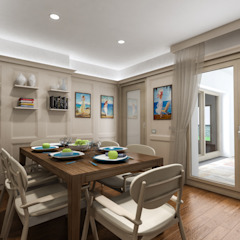 Mediterranean style house by studiosagitair Mediterranean