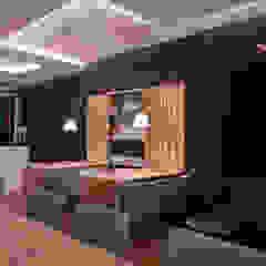 Minimalist bars & clubs by Orlane Santos Arquitetura Minimalist