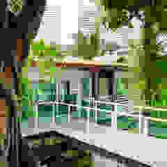 Maisons modernes par Caramelo Arquitetos Associados Moderne
