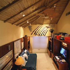 Rustikale Schlafzimmer von Cristina Amaral Arquitetura e Interiores Rustikal