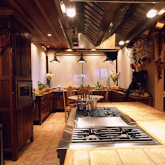 Rustikale Küchen von Cristina Amaral Arquitetura e Interiores Rustikal