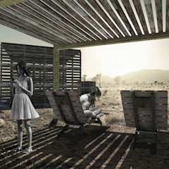 rustic  by 21 Arquitectura, Rustic
