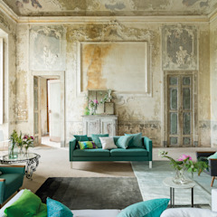 Madhuri Print collection AW14 Modern living room by Designers Guild Modern