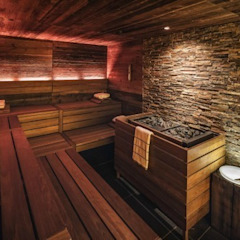 by corso sauna manufaktur gmbh Scandinavian Wood Wood effect