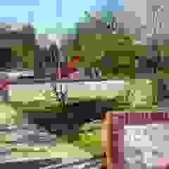 Jardines de estilo moderno de ZENOBIA Atelier de Paysage et d'Urbanisme Moderno