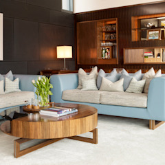 Private Residence, Oslo Modern living room by LINLEY London Modern