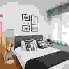 House S - S Evi Endüstriyel Yatak Odası HANDE KOKSAL INTERIORS Endüstriyel