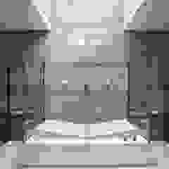 Baños de estilo moderno de Marcos Bertoldi Moderno