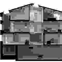 sezione Case moderne di viabrenneroarchitettura Moderno