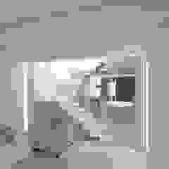 rendering soggiorno Case moderne di viabrenneroarchitettura Moderno