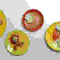 Handmade Ceramic Mural Morbi Elegance AND Balaji Wall Texture Corridor, hallway & stairs Accessories & decoration