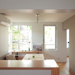 TATO DESIGN:タトデザイン株式会社 Scandinavian style living room