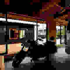من 小笠原建築研究室 ريفي خشب Wood effect
