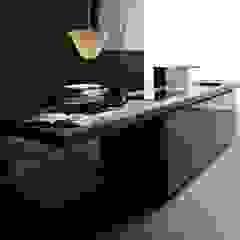New Logica System | Cardoso stone worktop Valcucine Cuisine minimaliste