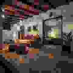 Ibiza Style Eclectische slaapkamers van Kabaz Eclectisch