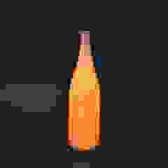 Wine Bottle Lamp  (A Japanese paper light): modern  by Rin crossing, Modern