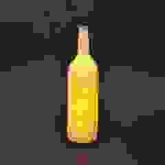 Japanese Sake Bottle Lamp  (A Japanese paper light): modern  by Rin crossing, Modern