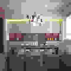 GR Apartment, Milano Cucina moderna di Calvi Brambilla Moderno