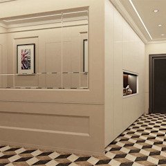 Pasillos, vestíbulos y escaleras de estilo clásico de Павел Белый и дизайнеры Clásico