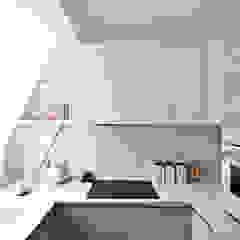City Pied a Terre Black and Milk | Interior Design | London Modern Kitchen