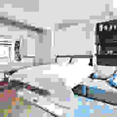 City Pied a Terre Black and Milk | Interior Design | London Modern Bedroom