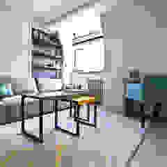 City Pied a Terre Black and Milk | Interior Design | London Modern Living Room