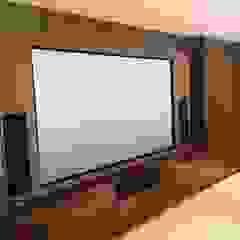 Multi purpose cinema room Designer Vision and Sound Modern style media rooms