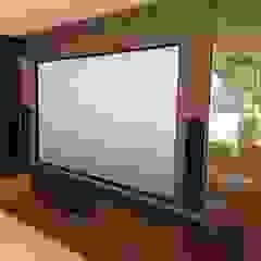 muti purpose cinema room Designer Vision and Sound Modern style media rooms