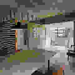 元浅草の住居 ラスティックデザインの ダイニング の 蘆田暢人建築設計事務所 Ashida Architect & Associates ラスティック