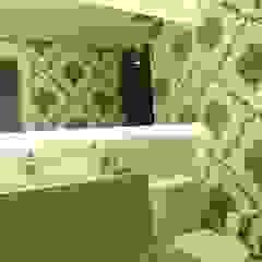 Apartamento elegante a beira mar Banheiros coloniais por Bruna Zappelini Arquitetura Colonial