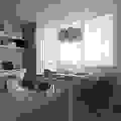 Comedores de estilo escandinavo de ap. studio architektoniczne Aurelia Palczewska Escandinavo