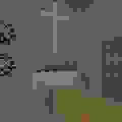 kaplica pogrzebowa w Ostródzie od ap. studio architektoniczne Aurelia Palczewska-Dreszler Minimalistyczny