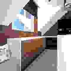 ap. studio architektoniczne Aurelia Palczewska Industrial style kitchen