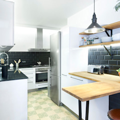 Industrial style kitchen by Egue y Seta Industrial