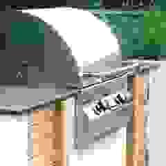 Outdoor kitchen by Rae Wilkinson Rae Wilkinson Design Ltd Modern Garden