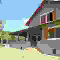 MARIA IGNEZ DELUNO arquitetura Rustic style houses