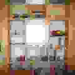 小さな白いカフェ の ユウ建築設計室 北欧