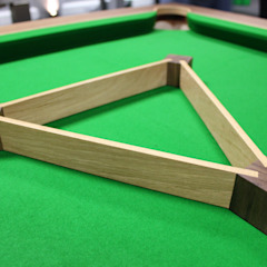 Spartan Pool/Dining Table and Matching Triangle. Designer Billiards Dining roomTables