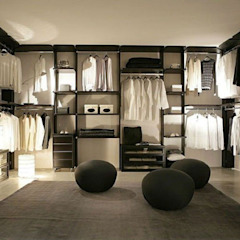 Colonial style dressing rooms by MUEBLES RABANAL SL Colonial