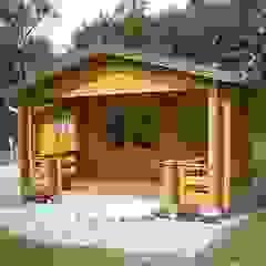 Scandinavian style houses by Betana Blockhaus GmbH Scandinavian