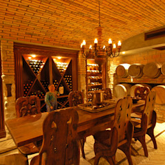 Tropical style wine cellar by BR ARQUITECTOS Tropical