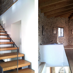 에클레틱 복도, 현관 & 계단 by arquitectura SEN MÁIS 에클레틱 (Eclectic)