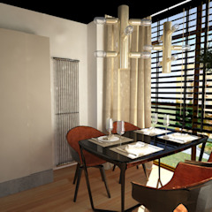 Disak Studio Modern dining room