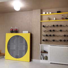 Eclectic style wine cellar by marco olivo Eclectic