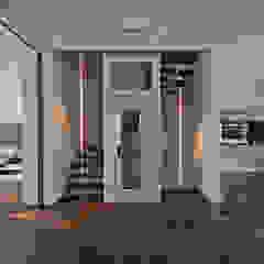 herenhuis IJburg Steigereiland Tropische gangen, hallen & trappenhuizen van Florian Eckardt - architectinamsterdam Tropisch